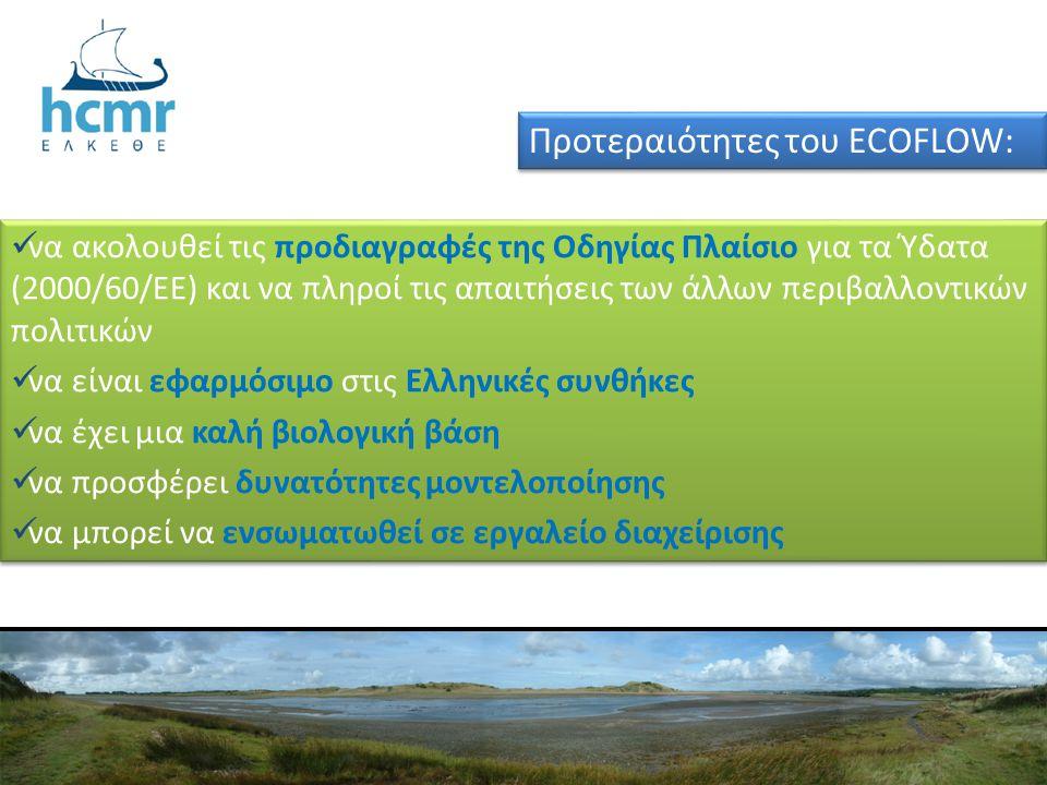  να ακολουθεί τις προδιαγραφές της Οδηγίας Πλαίσιο για τα Ύδατα (2000/60/ΕΕ) και να πληροί τις απαιτήσεις των άλλων περιβαλλοντικών πολιτικών  να εί