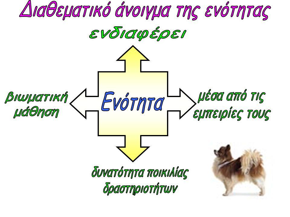 •Ζώα υπό εξαφάνισηΖώα υπό εξαφάνιση •Ενδημικά ζώα της ΚύπρουΕνδημικά ζώα της Κύπρου (Οικολογία) Ζωντανεύω ένα από τους μύθους του Αισώπου (Θεατρικό παιχνίδι) «Μαντεύω» παιχνίδι με ζώα (Αγγλικά) Ομάδες ζώων (Επιστήμη) Έρευνα στην τάξη και το σχολείο για τα κατοικίδια.