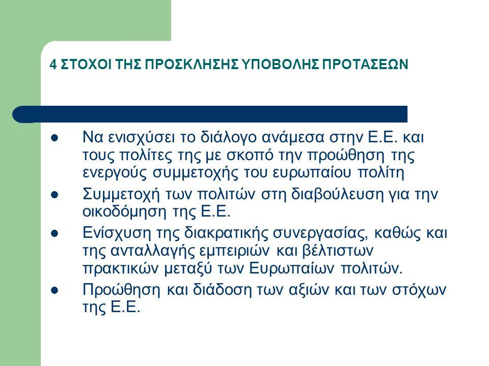 ΠΕΡΙΕΧΟΜΕΝΟ Το πρόγραμμα ακολουθεί την εξής αρχή: Οι τοπικές αρχές δεν πρέπει να γυρίσουν την πλάτη τους στην Ευρώπη και τον κόσμο.