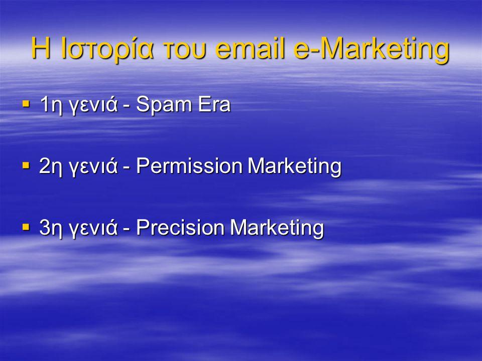 Γιατί email e-Marketing.