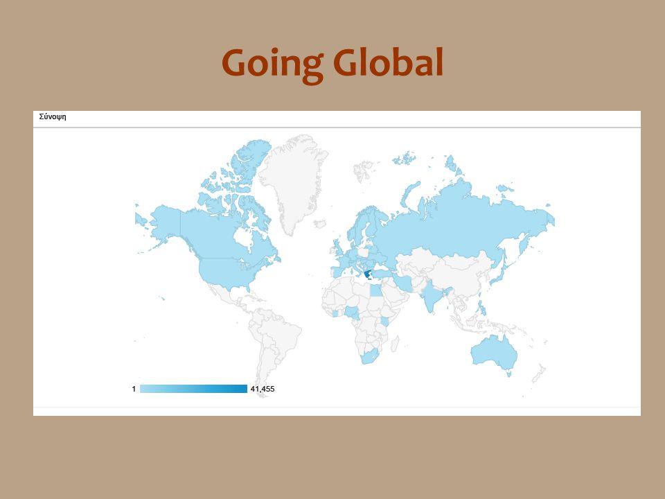 Μία πρώτη αποτίμηση •Η ανταπόκριση στις υπηρεσίες της ιστοσελίδας φαίνεται να είναι μεγάλη •Η ιστοσελίδα κατάφερε να απευθυνθεί στο target group της •Τα στατιστικά επιβεβαιώνουν την καλή της παρουσία στον παγκόσμιο ιστοχώρο Όμως •Θα πρέπει να ολοκληρωθεί το στήσιμο της •Θα πρέπει να υπάρχει συνεχής ανανέωσή της με βάση το feedback του target group •Ανάγκη αλλαγής νοοτροπίας: εμπιστοσύνη στους ψηφιακούς τρόπους ενημέρωσης και επικοινωνίας •Σύνδεση της ιστοσελίδας με ψηφιακές υπηρεσίες κοινωνικής δικτύωσης (facebook, twitter κ.ά.)