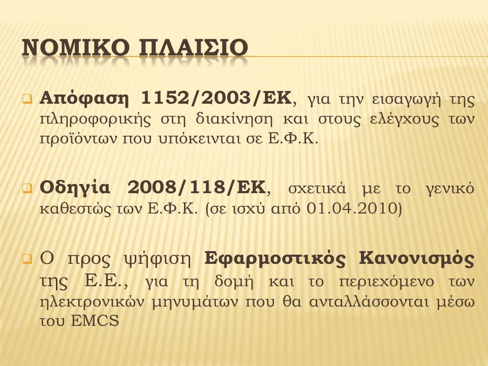 ΗΛΕΚΤΡΟΝΙΚΗ ΥΠΟΒΟΛΗ ΔΙΟΙΚΗΤΙΚΟΥ ΕΓΓΡΑΦΟΥ (e-A.D./electronic administrative document) Κατάργηση σε έντυπη μορφή Σ.Δ.Ε