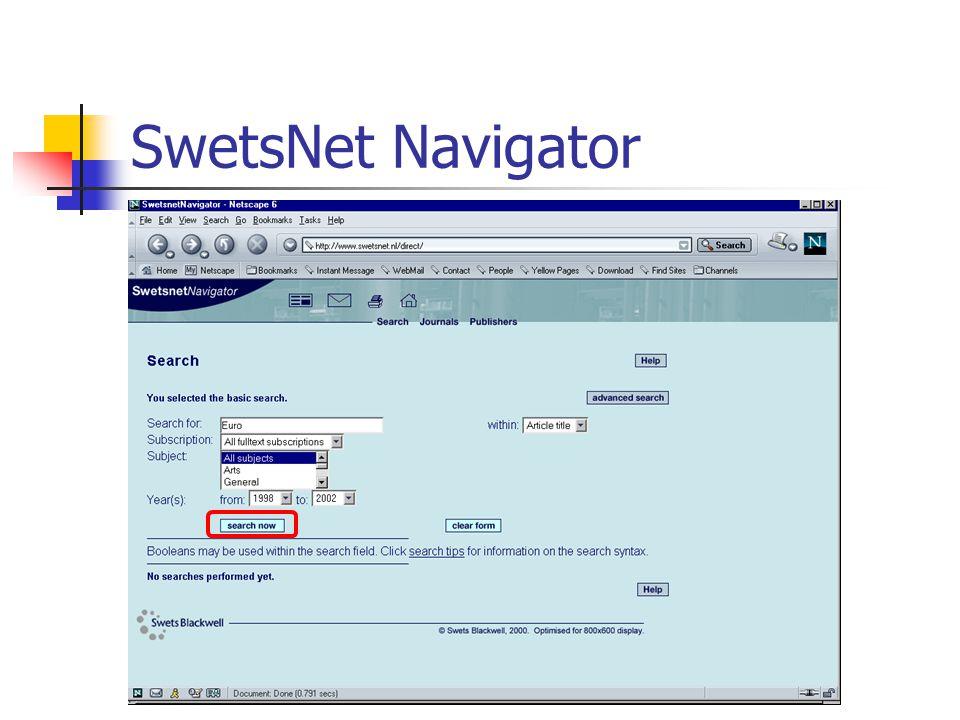 CSA Internet Database Service  Από τον Απρίλιο 2002 έχουμε πρόσβαση στην Internet Database Service (IDS), που παρέχεται από την Cambridge Scientific Abstracts.