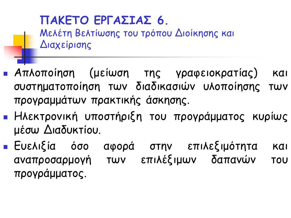 ΠΑΚΕΤΟ ΕΡΓΑΣΙΑΣ 6.