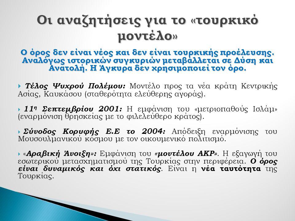 Ο όρος δεν είναι νέος και δεν είναι τουρκικής προέλευσης.
