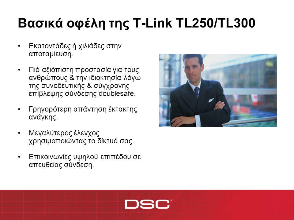 Βασικά οφέλη της T-Link TL250/TL300 •Το TL250 σας εξοικονομεί χρήματα στην τηλεφωνική γραμμή & σε άλλες δαπάνες.