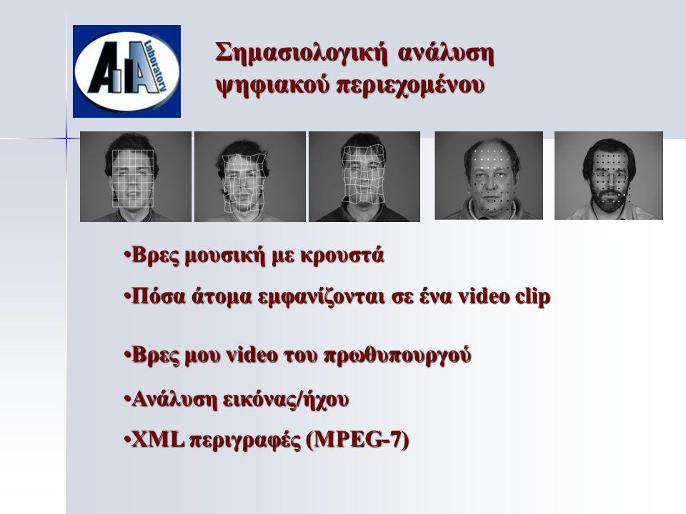 Παραγωγή Ψηφιακών Μέσων • •Postproduction σε ταινίες • •Παιχνίδια • •Webcasting