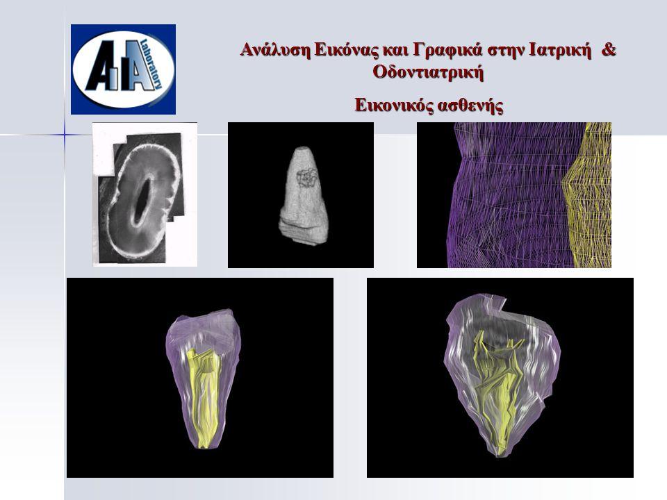 Ανάλυση Εικόνας και Γραφικά στην Ιατρική & Οδοντιατρική Εικονικός ασθενής