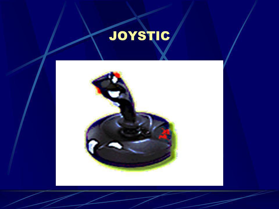 Το joystick (ή χειριστήριο παιχνιδιών) συνδέεται απευθείας στην κατάλληλη θύρα της κάρτας ήχου(παράλληλη θύρα).