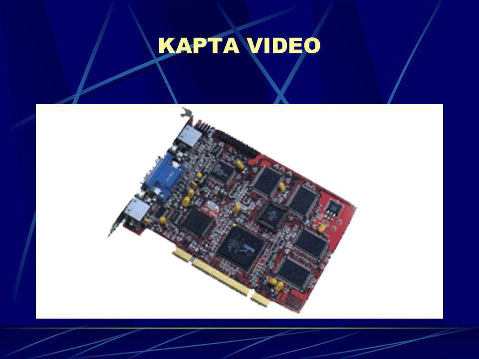 Η κάρτα ψηφιοποίησης video παρέχει την δυνατότητα για την εμφάνιση κινούμενης εικόνας στην οθόνη του υπολογιστή με ποιότητα παρόμοια αυτής της πραγματικής τηλεόρασης.