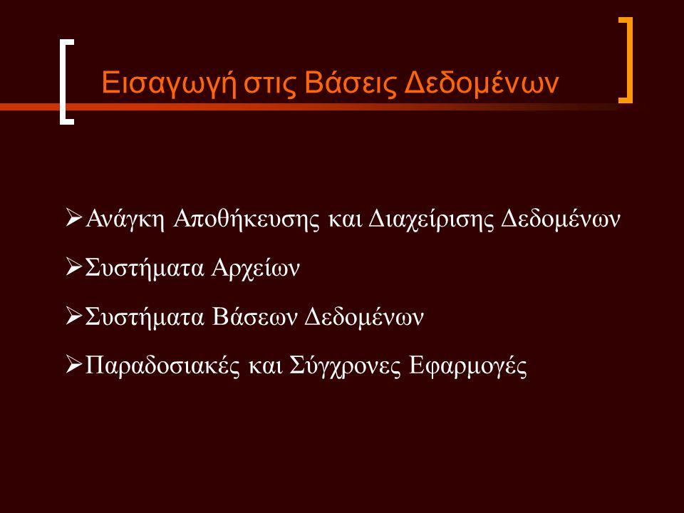 ΦΟΙΤΗΤΗΣΟνομαΑριθ_ΜητρωουΕτοςΚατευθυνση Παπαδόπουλος2005/00013Μουσειολογία Δημητρίου2004/00054Εκπ.Τεχνολογία ΜΑΘΗΜΑΟνομα_ΜαθηματοςΚωδικος_ΜαθΔιδακ_μοναδεςΤμημα Βάσεις ΔεδομένωνΠΛΡ1093ΤΠΤΕ Εισαγωγή στην Εκπαιδευτική Τεχνολογία 4ΕΤΔΕ1003ΤΠΤΕ Φύλο και ΠολιτισμόςΠΟ02522ΚΟΙΝΩΝΙΟΛΟΓΙΑΣ ΔΙΔΑΣΚΑΛΙΑΚωδ_ΔιδασκΚωδικος_ΜαθΕξαμηνοΕτοςΔιδασκων 114ΕΤΔΕ100Χειμερινό2005Δημαράκη 124ΕΤΔΕ100Χειμερινό2006Καμμάς 21ΠΛΡ109Χειμερινό2006Καβακλή 22ΠΛΡ109Χειμερινό2007Καμμάς ΒΑΘΜΟΛΟΓΙΑΑριθ_ΜητρωουΚωδικος_ΔιδασκΒαθμός 2004/0005114.0 2005/0001217.0 2004/0005125.5