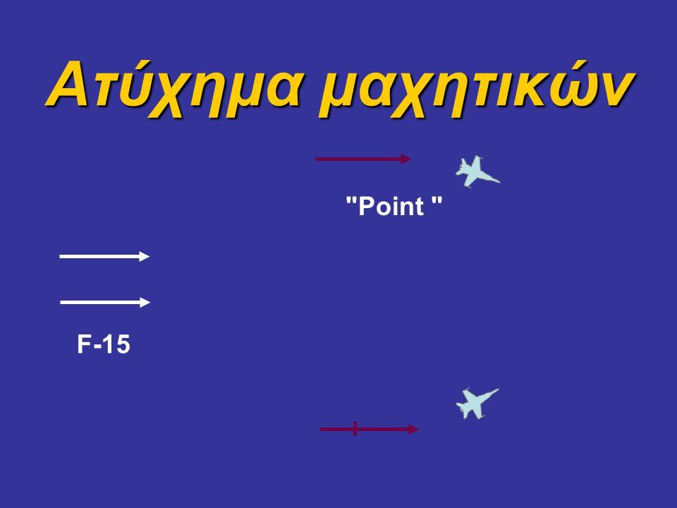 F-15 Point Ατύχημα μαχητικών