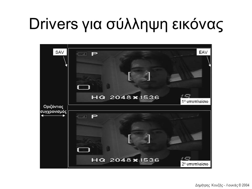 Δημήτρης Κουζής - Λουκάς © 2004 Drivers για σύλληψη εικόνας