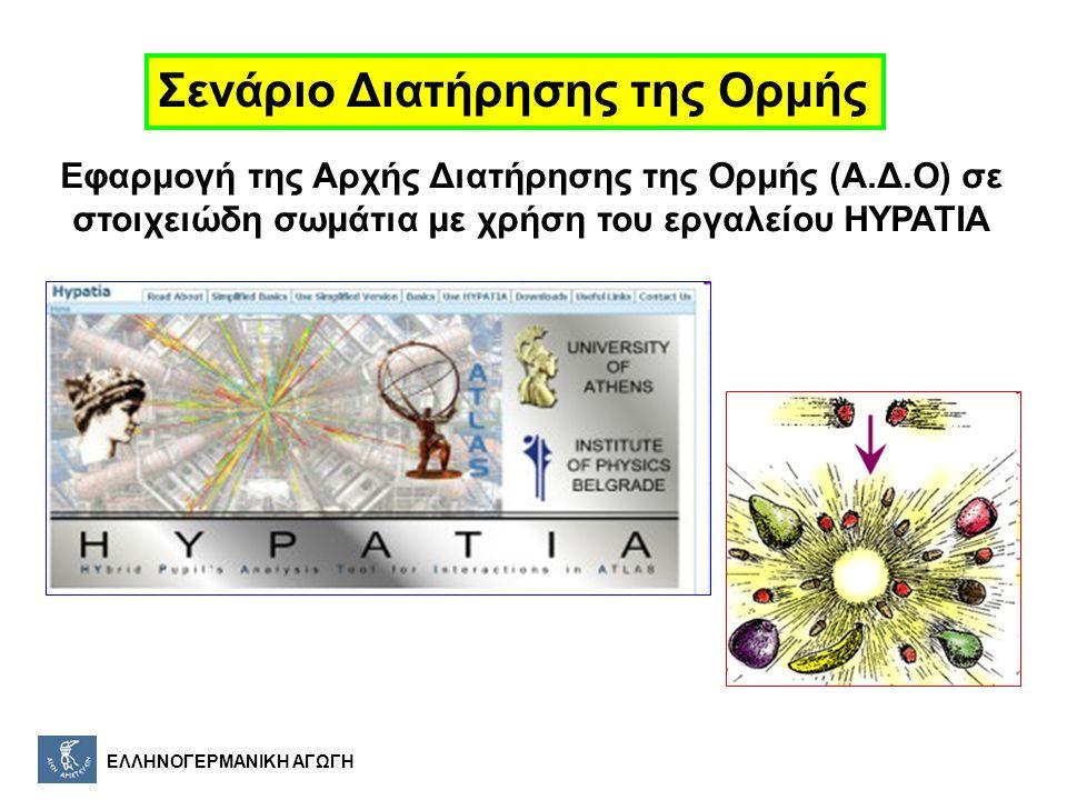 ΕΛΛΗΝΟΓΕΡΜΑΝΙΚΗ ΑΓΩΓΗ Τα μόρια αποτελούνται από άτομα, τα οποία είναι η μικρότερη μονάδα της ύλης με χαρακτηριστικές ιδιότητες, τα χημικά στοιχεία.