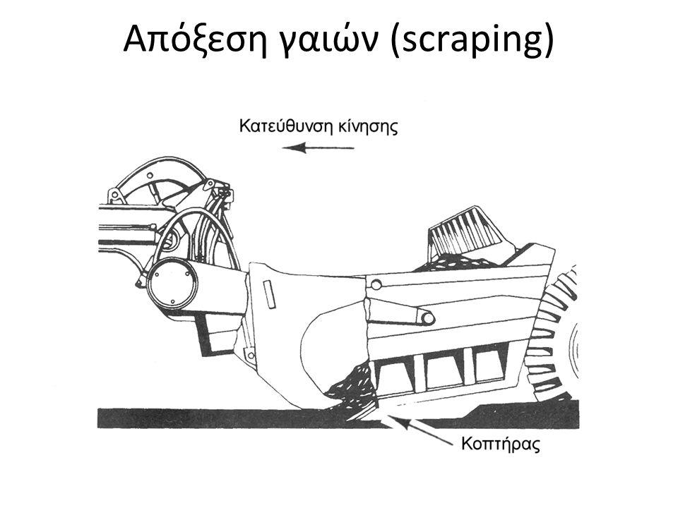 Απόξεση γαιών (scraping)