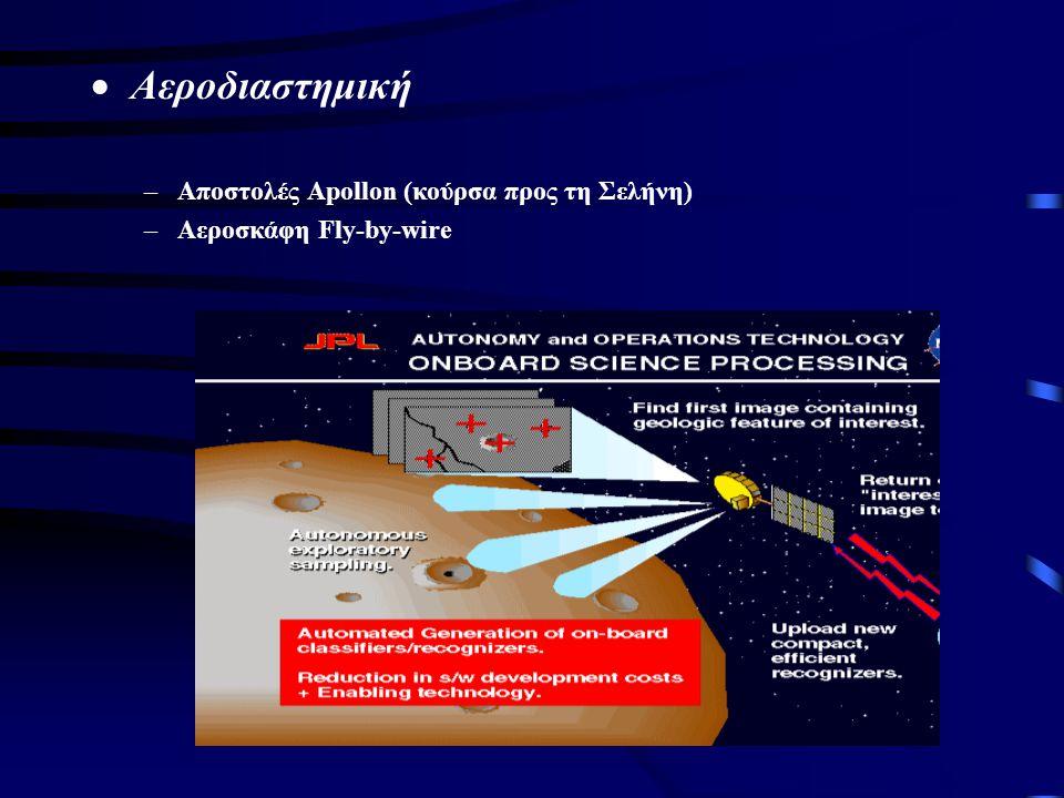  Αεροδιαστημική –Αποστολές Apollon (κούρσα προς τη Σελήνη) –Αεροσκάφη Fly-by-wire