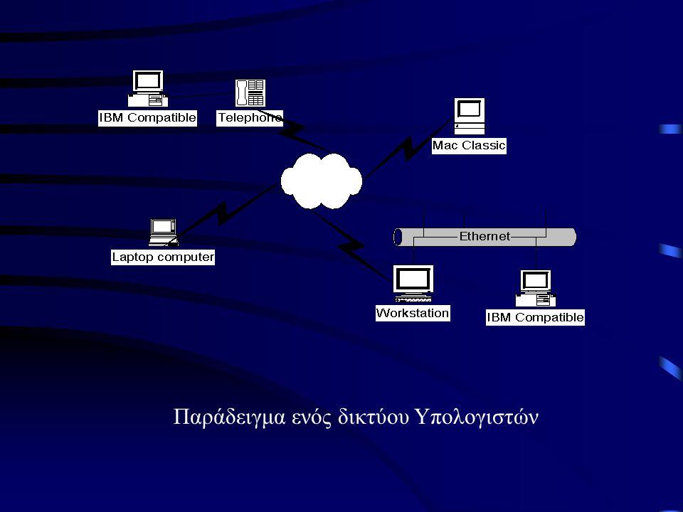 Παράδειγμα ενός δικτύου Υπολογιστών