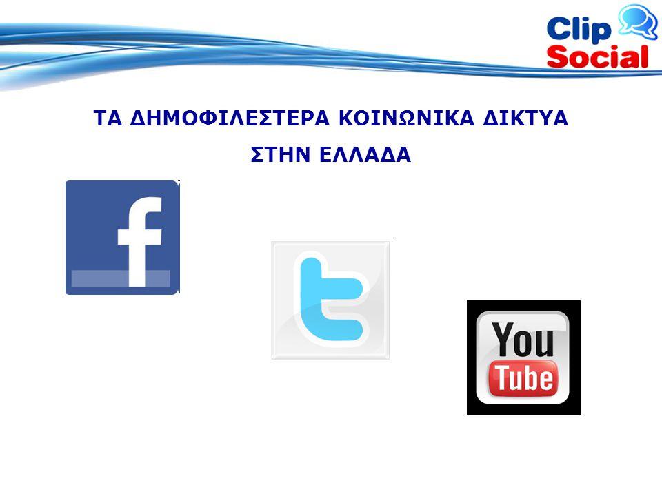 Social Media Monitoring by Clip News •Σύνολο αναφορών ανά μέσο και λέξη κλειδί •Πίνακας χρηστών •Κάλυψη ανά μέσο •Σύνολο αναφορών ανά λέξη κλειδί •Trends