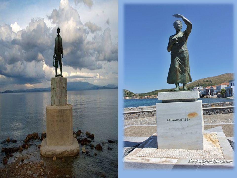 Εραστής των γαλάζιων π όντων … είναι ο Έλληνας ναυτικός… ριψοκίνδυνος, γενναίος, επιδέξιος, προσεύχεται στον Άγιο Νικόλα και παρακαλάει για ήμερες θάλασσες «….από συνήθεια κάνουνε, πριν πέσουν, το σταυρό τους κι αρχίζοντας με σιγανή φωνή « Πάτερ ημών...» το μακρουλό σταυρώνουνε λερό προσκέφαλό τους.…»