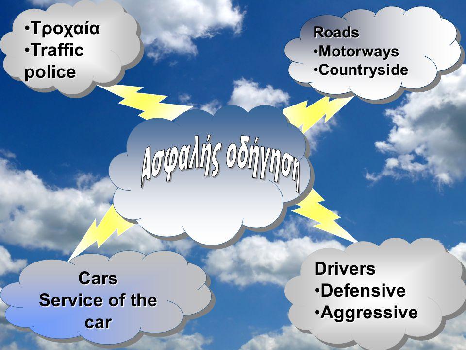 Αμυντική οδήγηση: Είναι πολιτισμός σωστής συμπεριφοράς του οδηγού απέναντι στον πεζό αλλά και στους άλλους οδηγούς.