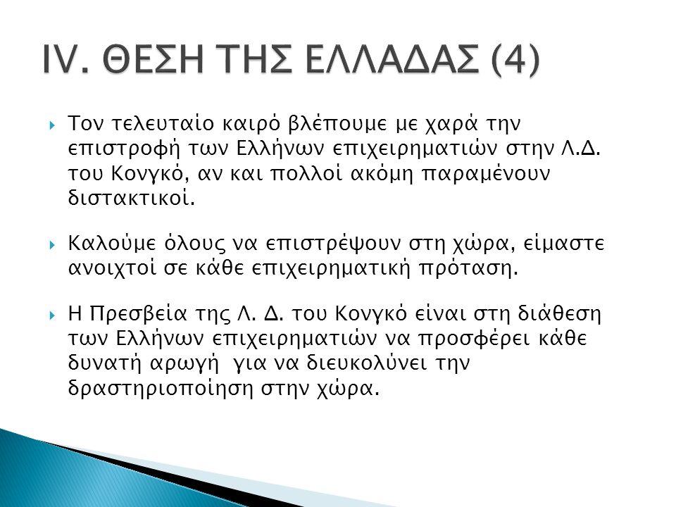  Τον τελευταίο καιρό βλέπουμε με χαρά την επιστροφή των Ελλήνων επιχειρηματιών στην Λ.Δ.