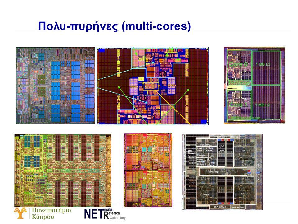 Πολυ-πυρήνες (multi-cores)