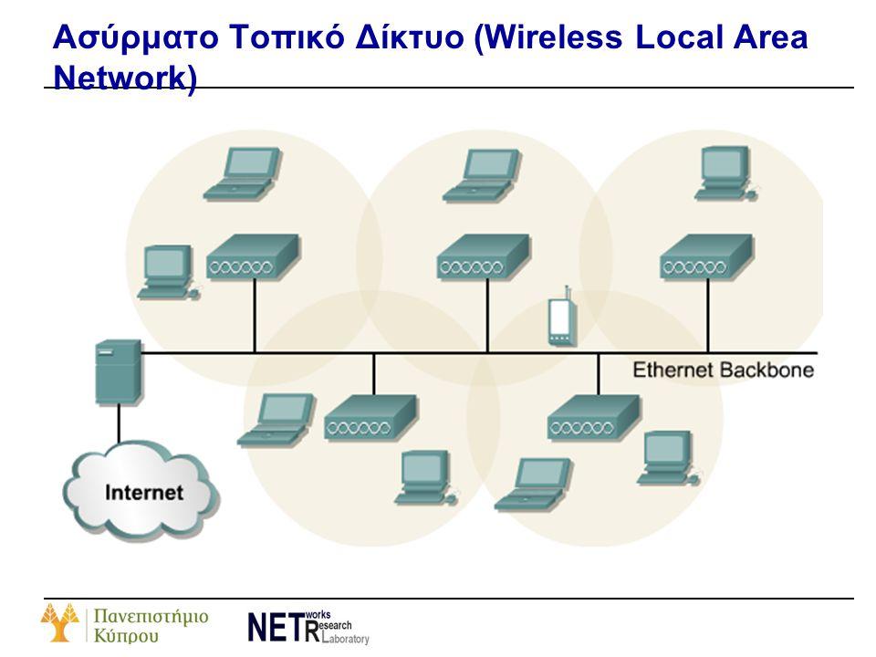 Ασύρματο Τοπικό Δίκτυο (Wireless Local Area Network)