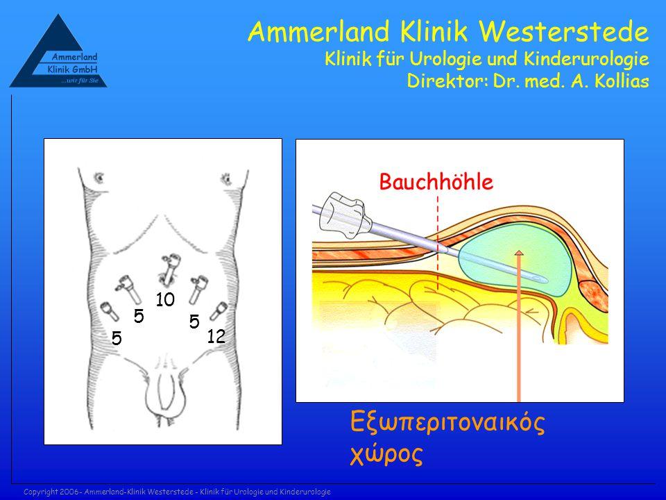 Copyright 2006- Ammerland-Klinik Westerstede - Klinik für Urologie und Kinderurologie Ammerland Klinik Westerstede Klinik für Urologie und Kinderurolo