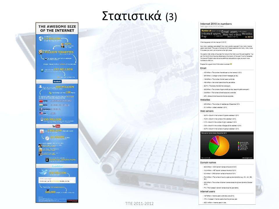 ΤΠΕ 2011-2012 Στατιστικά (3)
