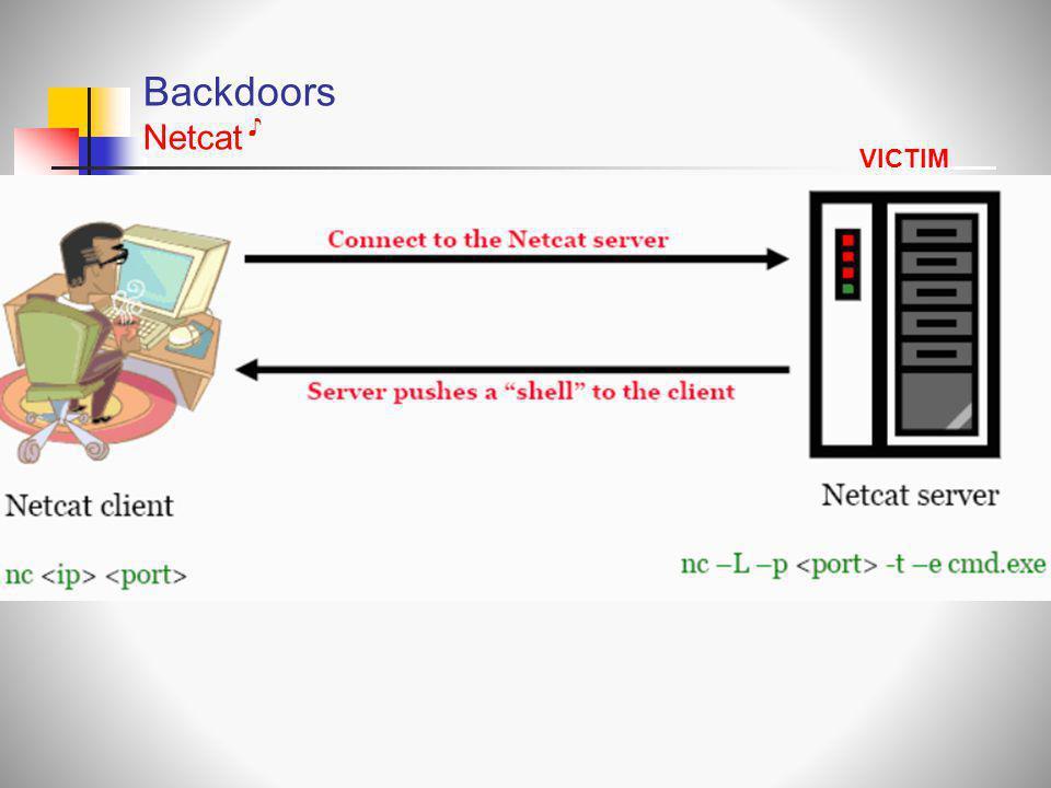 Backdoors Netcat VICTIM ♪