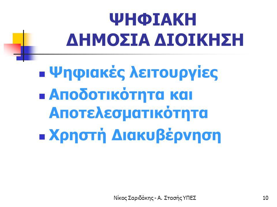 Νίκος Σαριδάκης - Α.
