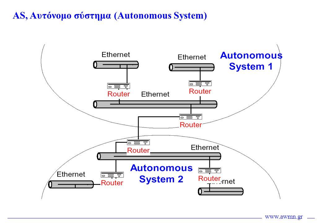 www.awmn.gr AS, Αυτόνομο σύστημα (Autonomous System)