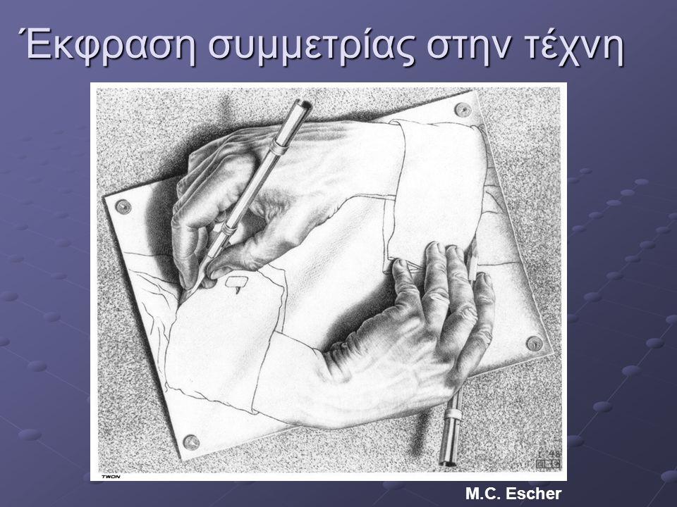 Έκφραση συμμετρίας στην τέχνη M.C. Escher