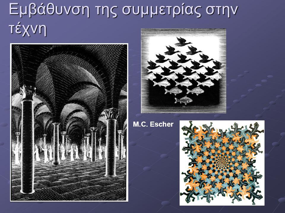 Εμβάθυνση της συμμετρίας στην τέχνη M.C. Escher