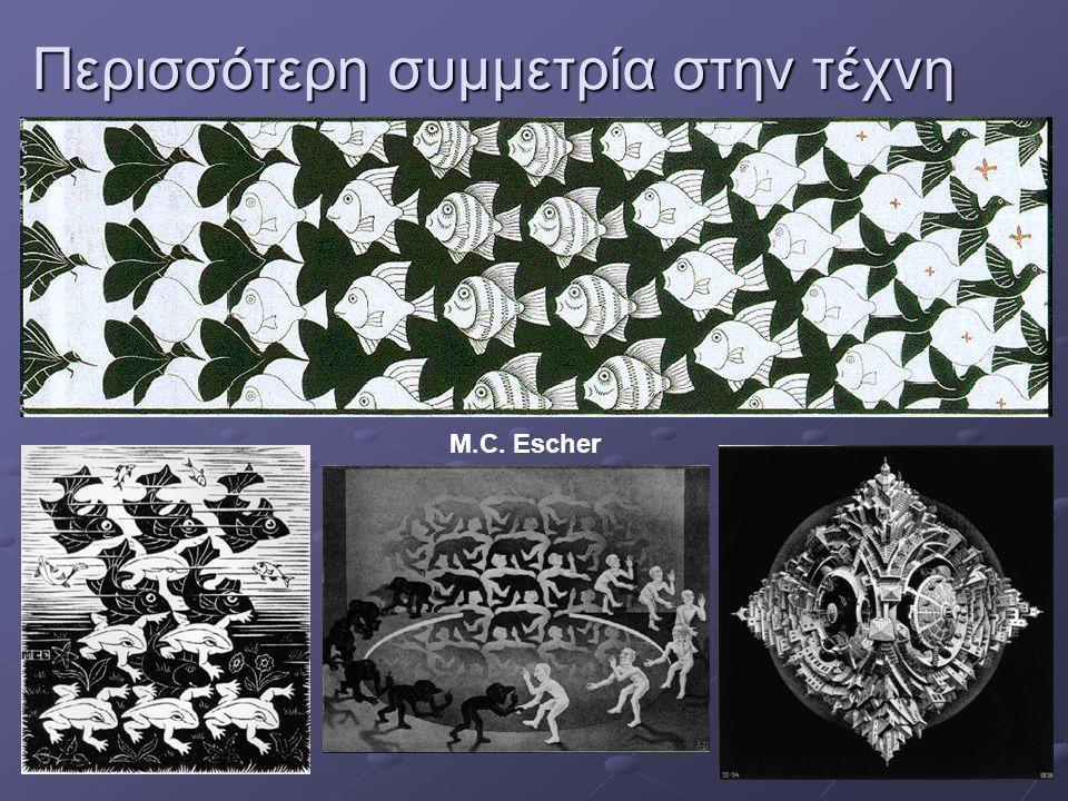 Περισσότερη συμμετρία στην τέχνη M.C. Escher