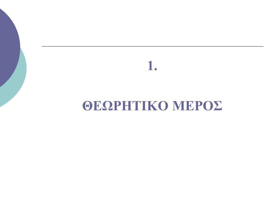 1.1 Η ΓΥΝΑΙΚΕΙΑ ΕΡΓΑΣΙΑ 1.1.1.