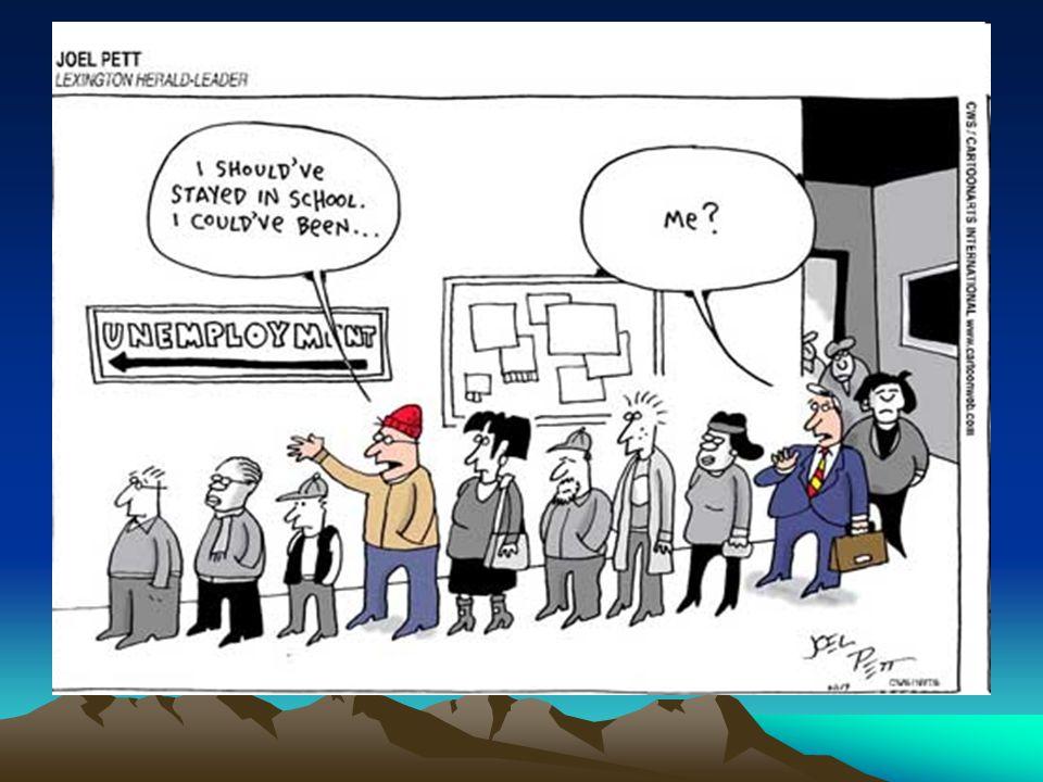 Ποια είναι τα αίτια της ανεργίας; –Η ανάπτυξη της τεχνολογίας είχε ως συνέπεια τη μηχανοποίηση της εργασίας και την αυτοματοποίηση της παραγωγής.