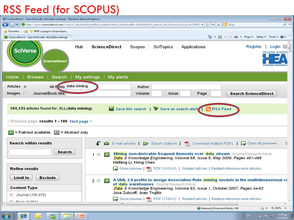 RSS Feed (for SCOPUS)