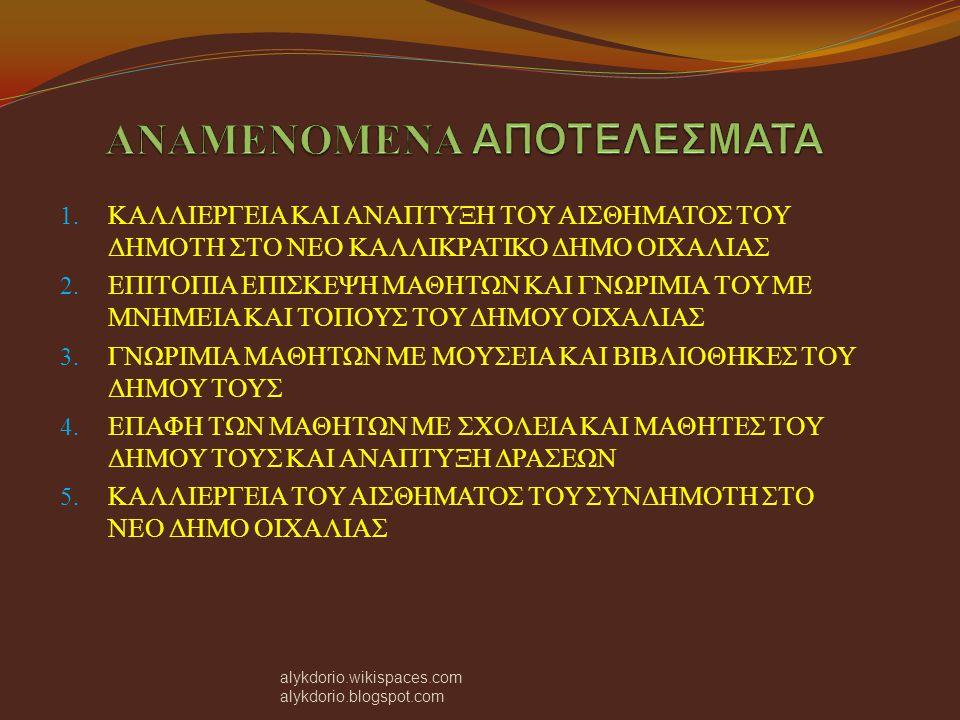 Στις 17 Ιανουαρίου 2012 η ομάδα της ερευνητικής εργασίας με συνοδούς τον υπεύθυνο καθηγητή Σερεμετάκη Γιώργο και την διευθύντρια του λυκείου Κιουρή Χαρά, επισκέφτηκε τον αρχαιολογικό χώρο της αρχαίας Μάλθης, στην ακρόπολη και στους θολωτούς τάφους.
