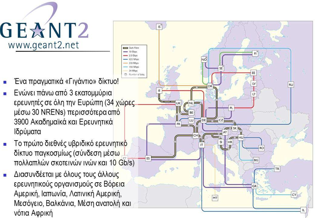 7  Ένα πραγματικά «Γιγάντιο» δίκτυο.
