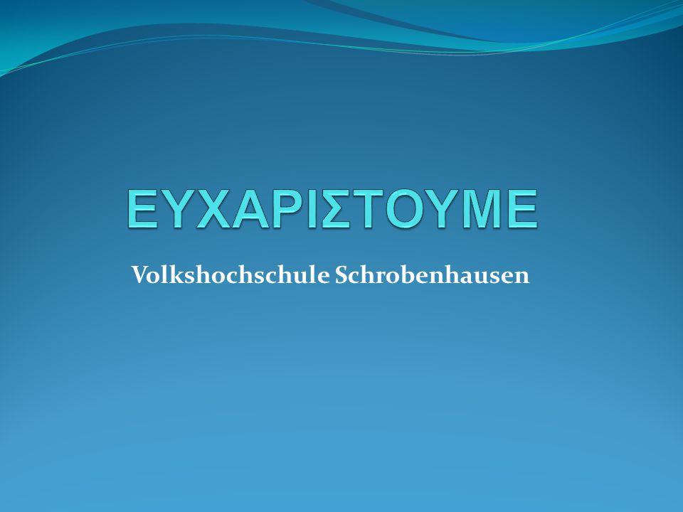 Volkshochschule Schrobenhausen