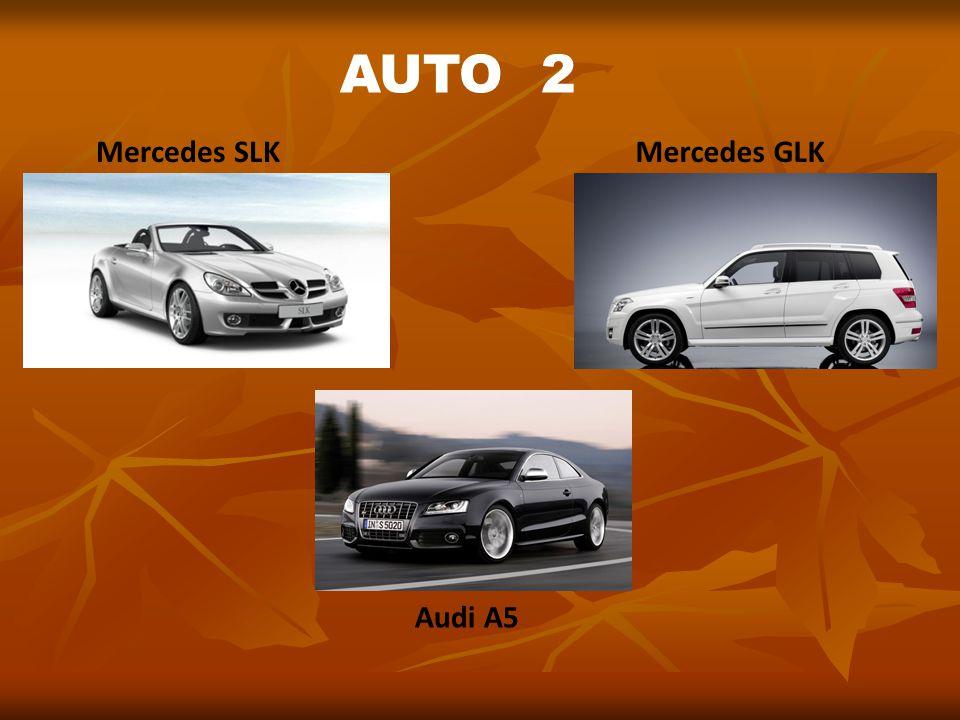 Mercedes SLKMercedes GLK Audi A5 AUTO 2