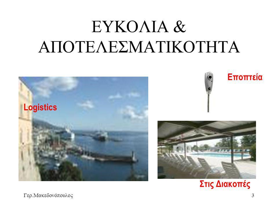 Γερ.Μακεδονόπουλος14 Μείωση Κόστους/ Πόρτες ADSL Υποδιπλασιασμός τιμής 6πλασιασμός ζήτησης ΟΤΕ- Τ.Π.Δ.Ε.