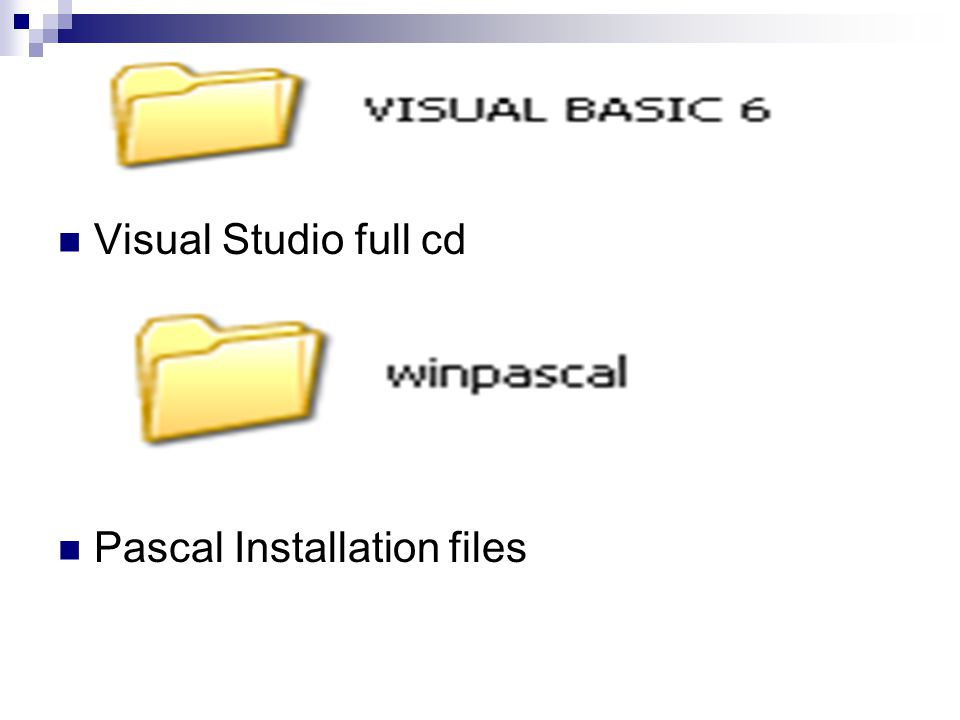  Visual Studio full cd  Pascal Installation files
