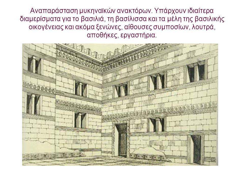 Λακκοειδείς τάφοι.Ο νεκρικός θάλαμος είναι υπόγειος με χτιστά τοιχώματα.