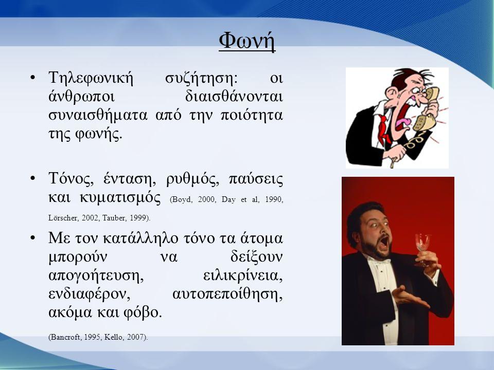 Το εξάγωνο πιο κάτω είναι ένα παράδειγμα από την φωνητική ανάλυση ενός ομιλητή.