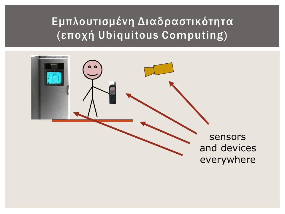 Συσκευές εισόδου • Εισαγωγής κειμένου ▫ Πληκτρολόγια ▫ Τηλεφωνικά πληκτρολόγια ▫ Ειδικά πληκτρολόγια  Παράδειγμα: πληκτρολόγιο για παιδιά σχολικής ηλικίας • Δεικτικές / Επιλογής ▫ Ποντίκια ▫ Joystick ▫ Οθόνες αφής (touchscreens) • Αναγνώριση κειμένου, χειρογράφου, φωνής ▫ Σαρωτές + λογισμικό OCR ▫ Μικρόφωνο + Κάρτα Ήχου + λογισμικό αναγνώρισης φωνής