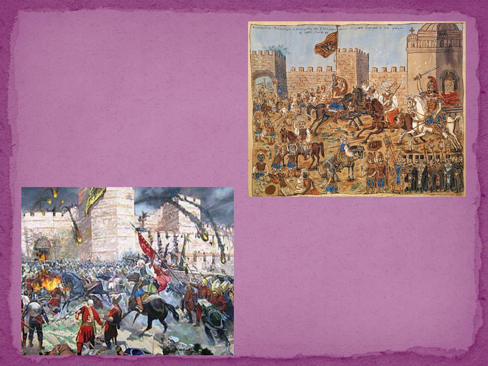 Μια παράδοση αναφέρει ότι την ώρα που εισέβαλαν οι Τούρκοι στην Αγιά Σοφιά τελούνταν Θεία Λειτουργία.