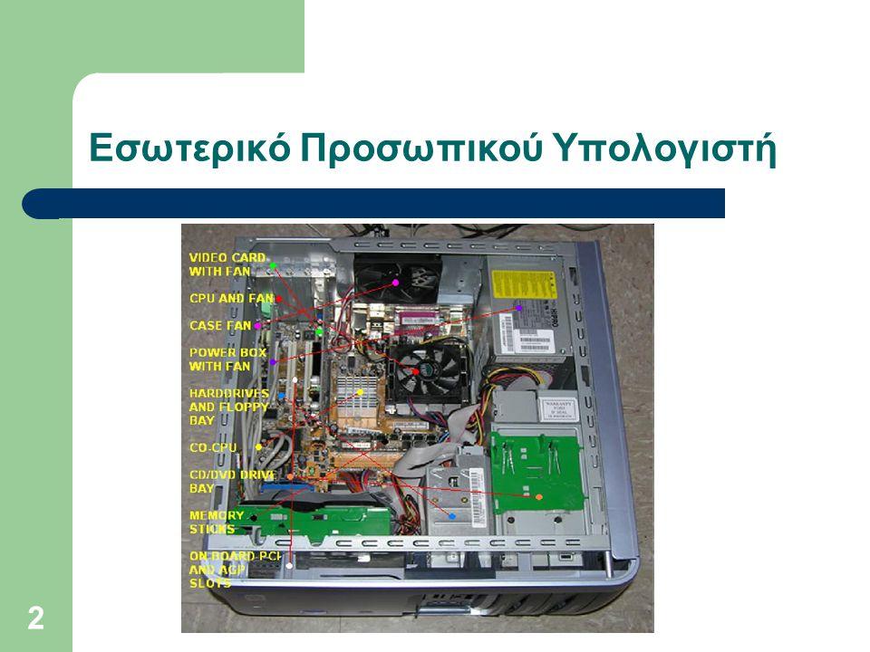 2 Εσωτερικό Προσωπικού Υπολογιστή