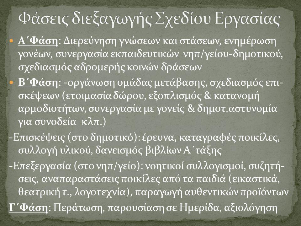 6 ο ολοήμερο Νηπιαγωγείο Ηρακλείου  Πρωτοπόροι: Κατάθεσαν την πρώτη πρόταση, έτσι έγινε παράδειγμα για άλλους νομούς!!.